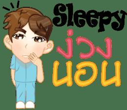 Cartoon Boy anime drawing v.housekeeper sticker #9384061