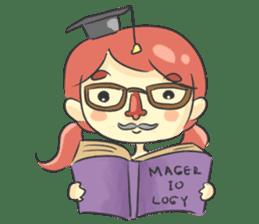 Magerella! - Daily Life sticker #9384552