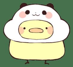 Yururin Panda ver.4 sticker #9385001