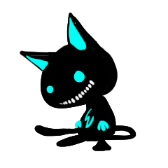 Shadow cat light up!