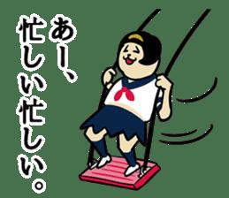 acitive girl 3 sticker #9389411