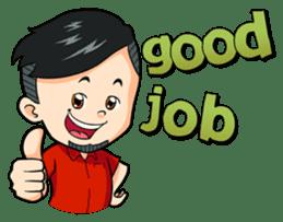 Momo Si Anak Kekinian sticker #9390349