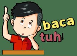 Momo Si Anak Kekinian sticker #9390352