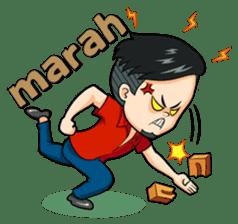 Momo Si Anak Kekinian sticker #9390354