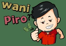 Momo Si Anak Kekinian sticker #9390357