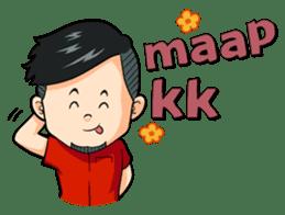 Momo Si Anak Kekinian sticker #9390358