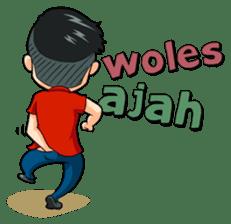 Momo Si Anak Kekinian sticker #9390360
