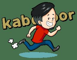 Momo Si Anak Kekinian sticker #9390361