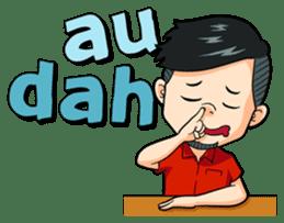 Momo Si Anak Kekinian sticker #9390363