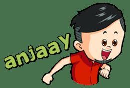Momo Si Anak Kekinian sticker #9390368