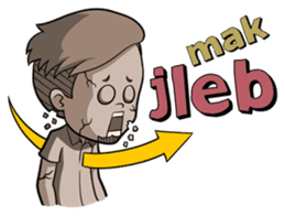 Momo Si Anak Kekinian sticker #9390370