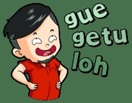 Momo Si Anak Kekinian sticker #9390371