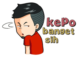 Momo Si Anak Kekinian sticker #9390373
