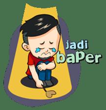 Momo Si Anak Kekinian sticker #9390376