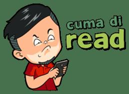 Momo Si Anak Kekinian sticker #9390381