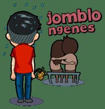 Momo Si Anak Kekinian sticker #9390382