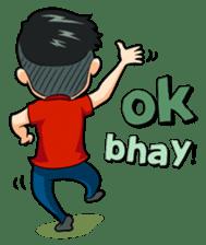Momo Si Anak Kekinian sticker #9390383