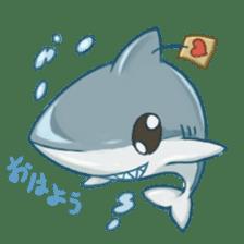 Shark -chan sticker #9390984