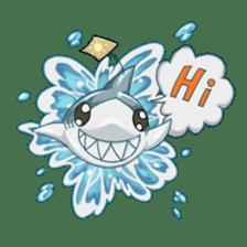 Shark -chan sticker #9390985