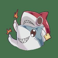 Shark -chan sticker #9390986
