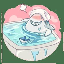 Shark -chan sticker #9390988