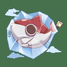 Shark -chan sticker #9390993