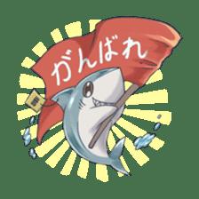 Shark -chan sticker #9390995