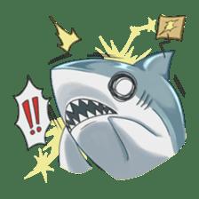 Shark -chan sticker #9390996