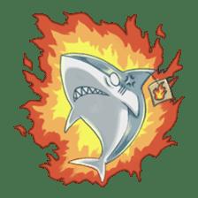 Shark -chan sticker #9390997