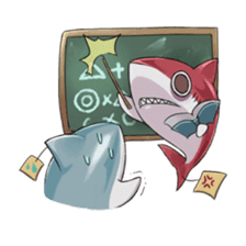 Shark -chan sticker #9390999