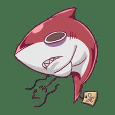 Shark -chan sticker #9391001