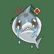 Shark -chan sticker #9391003
