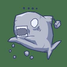 Shark -chan sticker #9391004