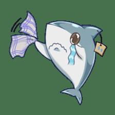 Shark -chan sticker #9391005