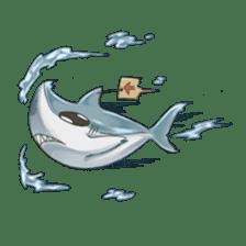 Shark -chan sticker #9391006