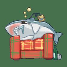 Shark -chan sticker #9391007