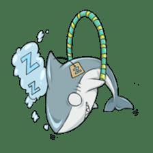 Shark -chan sticker #9391008