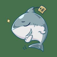 Shark -chan sticker #9391010