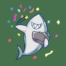 Shark -chan sticker #9391011