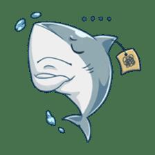 Shark -chan sticker #9391013