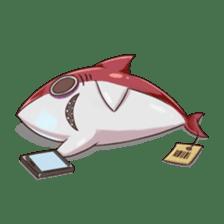 Shark -chan sticker #9391014