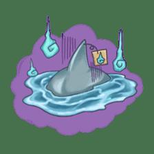 Shark -chan sticker #9391016