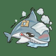 Shark -chan sticker #9391017
