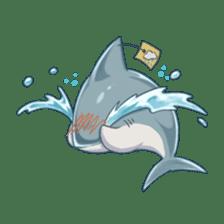 Shark -chan sticker #9391018