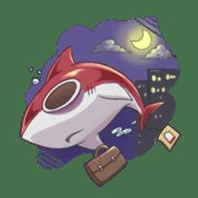 Shark -chan sticker #9391019