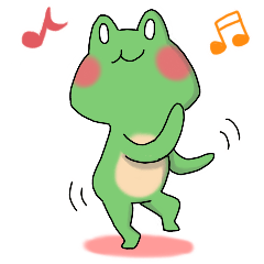 Frog KEROYAN Sticker -BASIC-