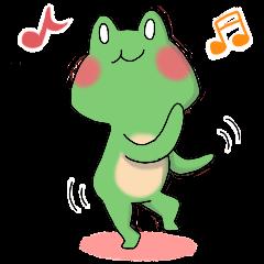 Frog KEROYAN Sticker -BASIC-