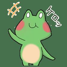 Frog KEROYAN Sticker -BASIC- sticker #9391504