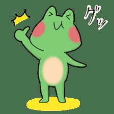 Frog KEROYAN Sticker -BASIC- sticker #9391505