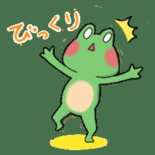 Frog KEROYAN Sticker -BASIC- sticker #9391513
